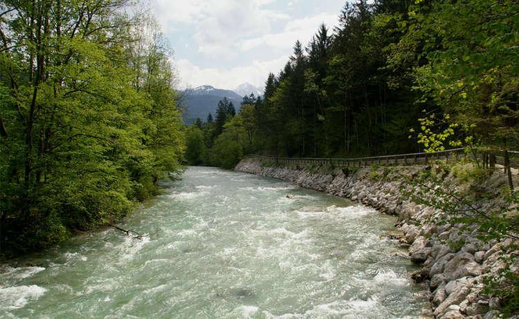 Die Berchtesgadener Ache