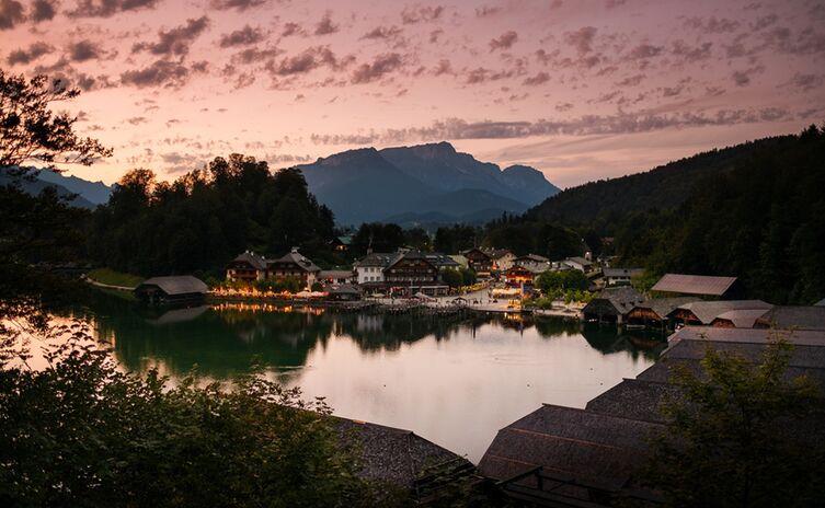Abendstimmung am Königssee