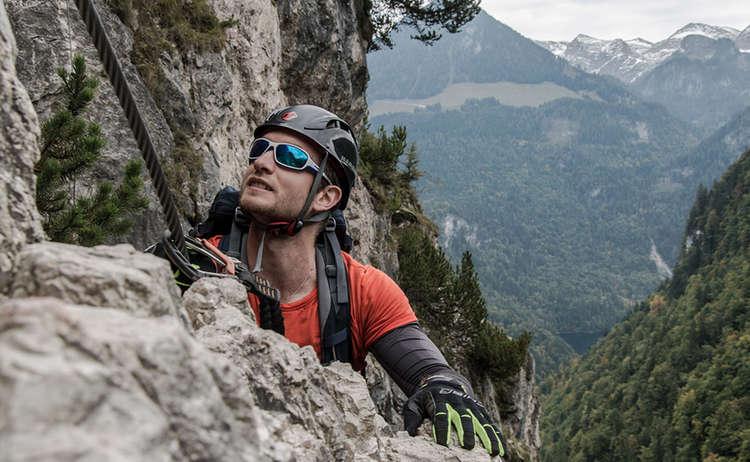 Klettersteig mit Aussicht: Grünstein