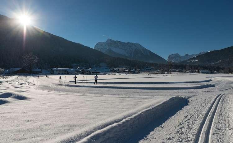 Langlaufen In Oberschoenau