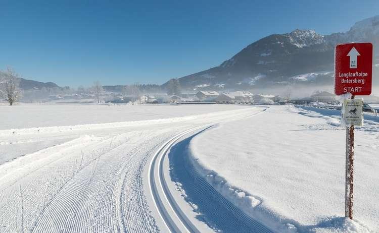 Langlaufloipe Untersberg