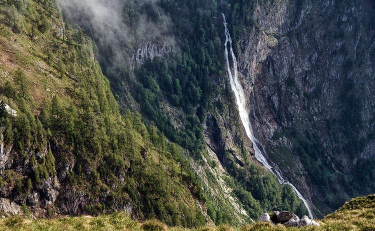 Der Röthbach Wasserfall