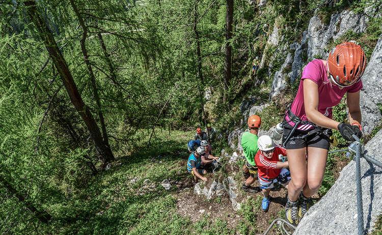 Schuetzensteig Klettersteig Jenner