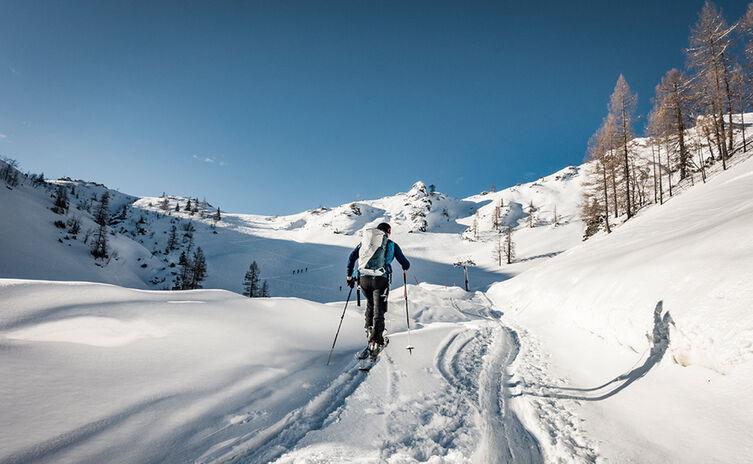 Skitour Jenner Mitterkaser Bauphase