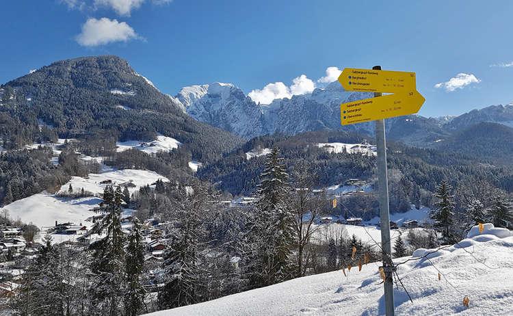 Winterwanderung zum Sulzbergkopf