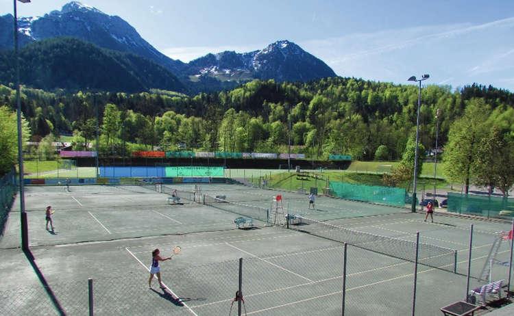 Der Tennisplatz am Schneewinkel
