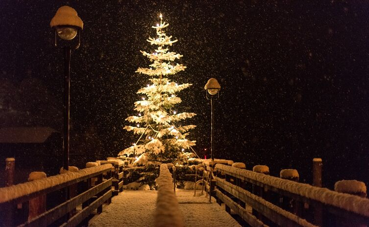Weihnachten In Schoenau A Koenigssee