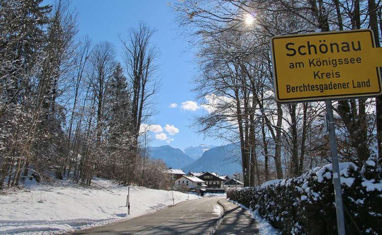 Winterwandern in der Oberschönau